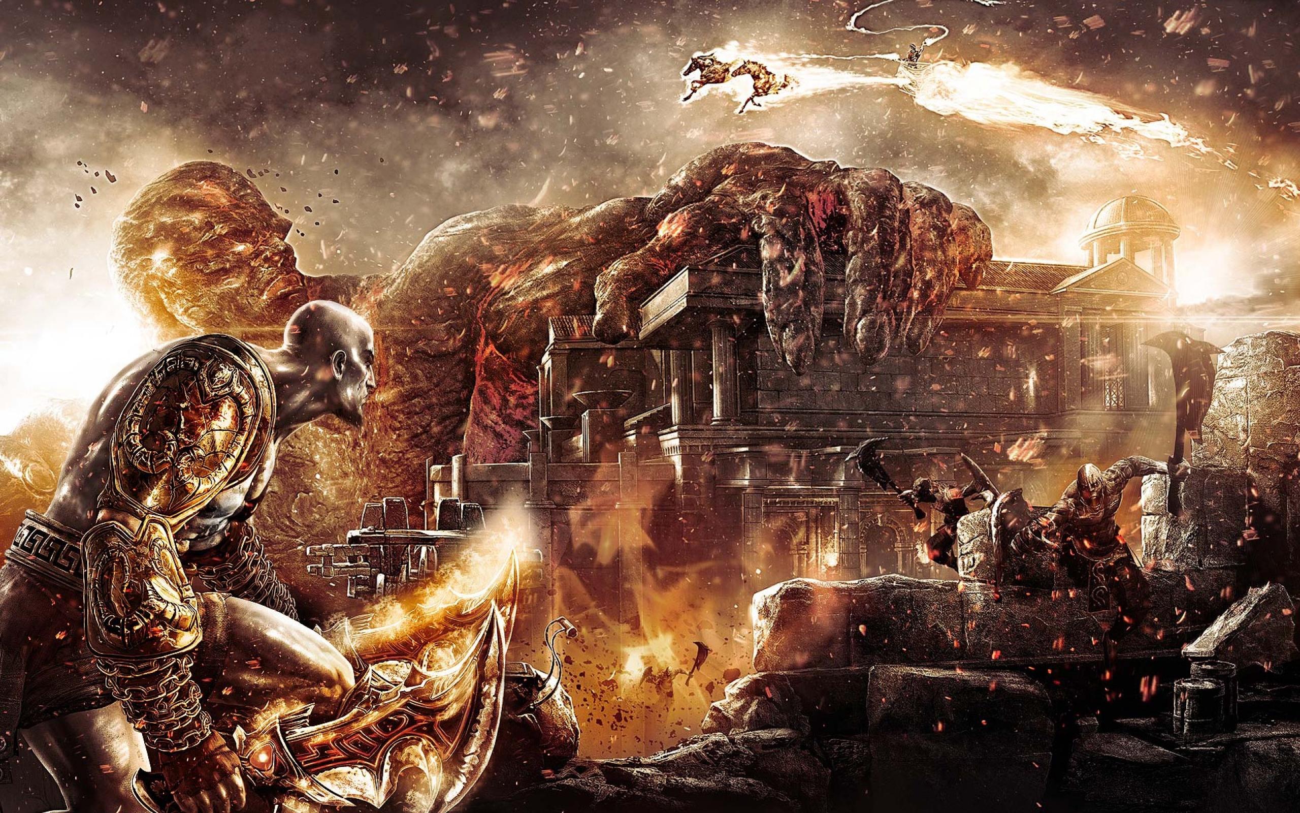 God Of War Ragnarok 2560x1600 Wallpaper Teahub Io