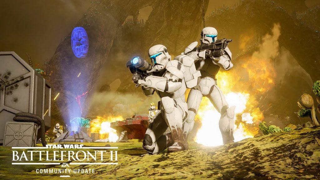 Star Wars Battlefront 2 Clone Commando 1024x576 Wallpaper Teahub Io