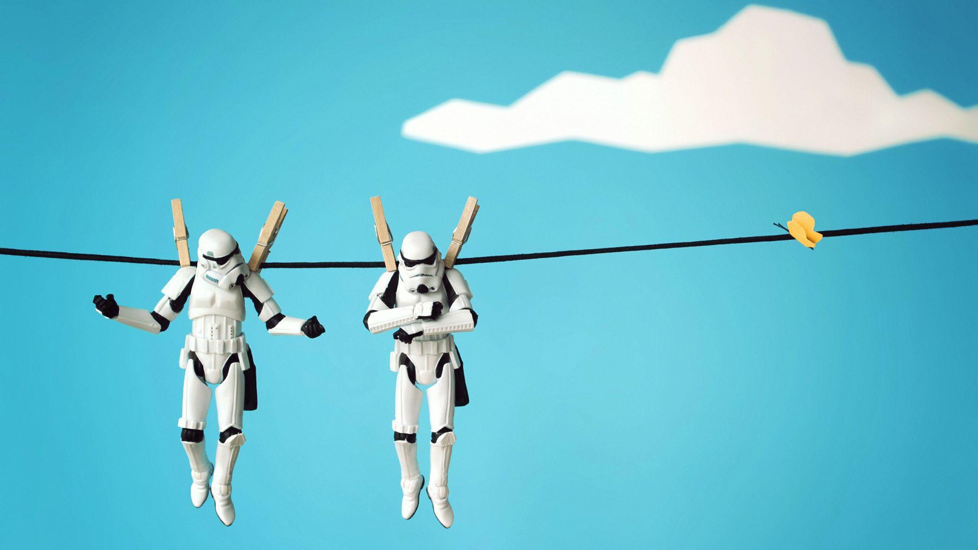 302 3025820 star wars minimalist pc wallpaper stormtrooper funny wallpaper