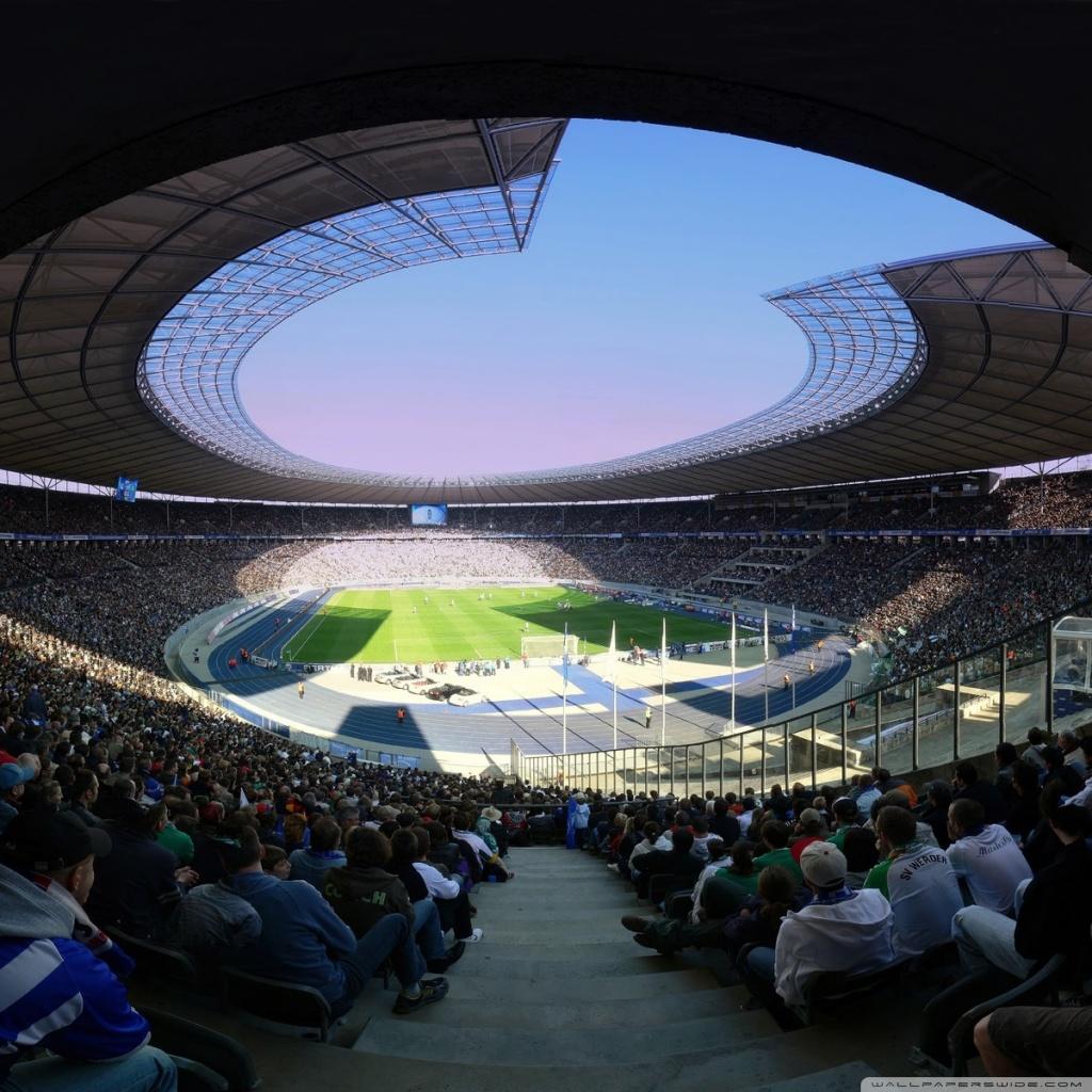 Stadium Football Wallpaper 4k 1024x1024 Wallpaper Teahub Io