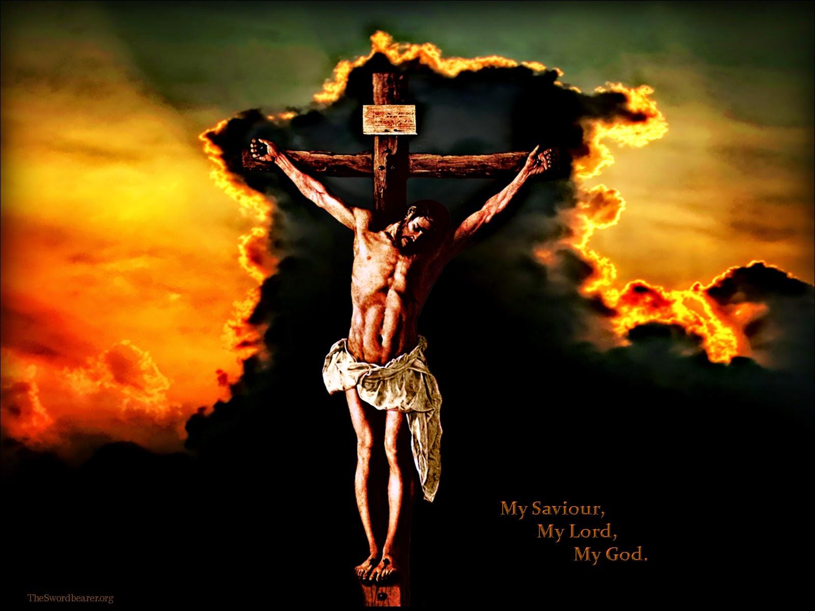 Wallpaper Salib Keren - Jesus Christ On The Cross Hd - 1600x1200 Wallpaper  - Teahub.io