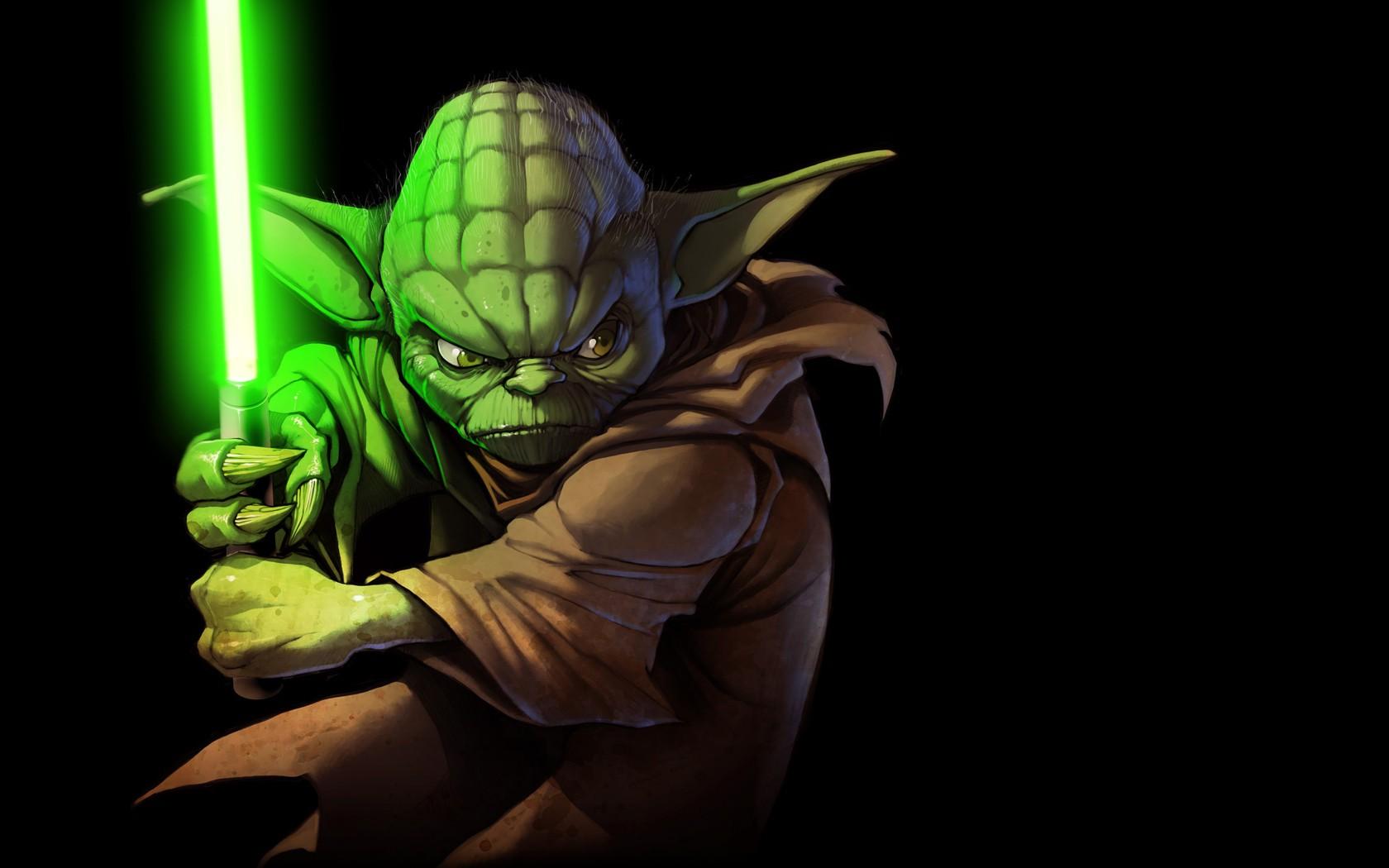 Star Wars Wallpaper Yoda 1680x1050 Wallpaper Teahub Io