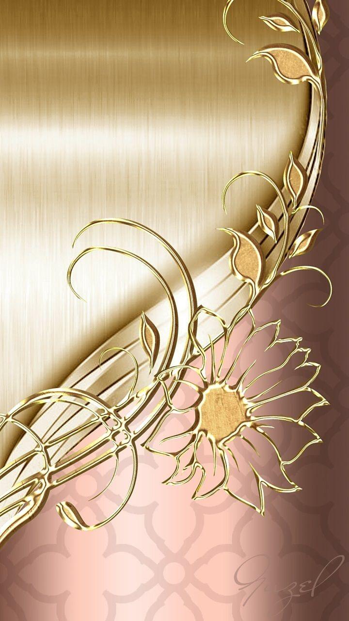 Rose Gold Wallpaper For Samsung Flower 720x1280 Wallpaper Teahub Io