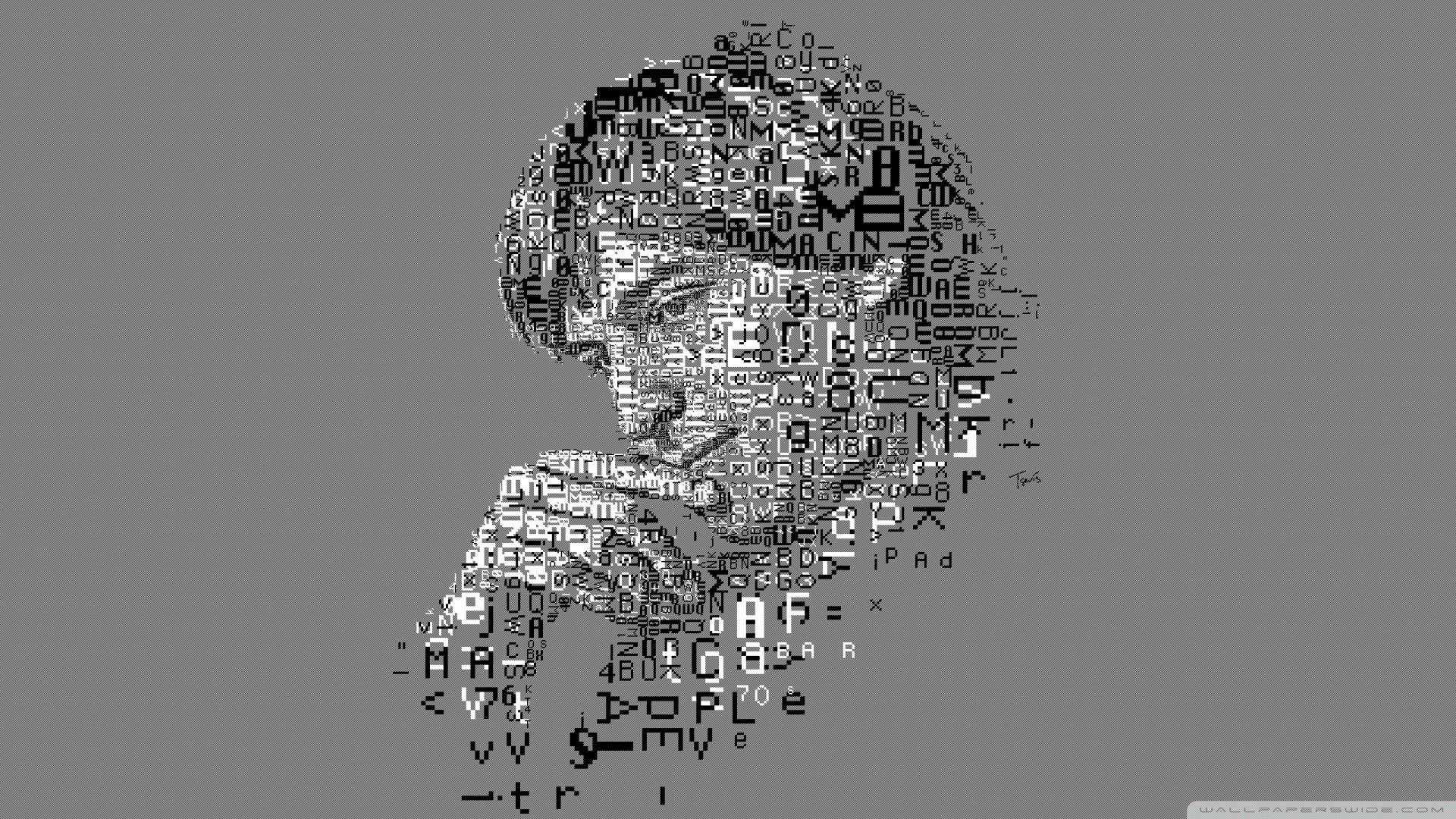 Hd - Steve Jobs Letras - HD Wallpaper