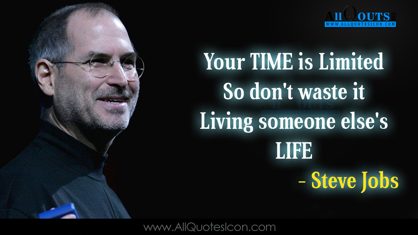 Best Steve Jobs Telugu Quotes Whatsapp Pictures Facebook - Steve Jobs Motivational Quotes In English - HD Wallpaper