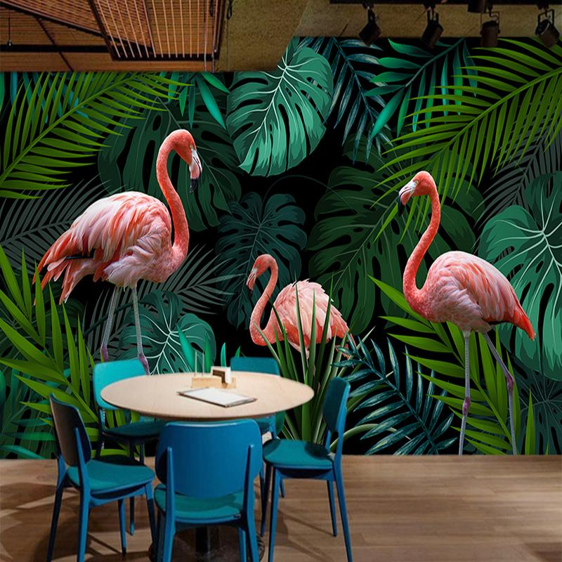 Tropical Leaves Wall Painting 800x800 Wallpaper Teahub Io Choose your favorite tropical leaves paintings from millions of available designs. tropical leaves wall painting 800x800