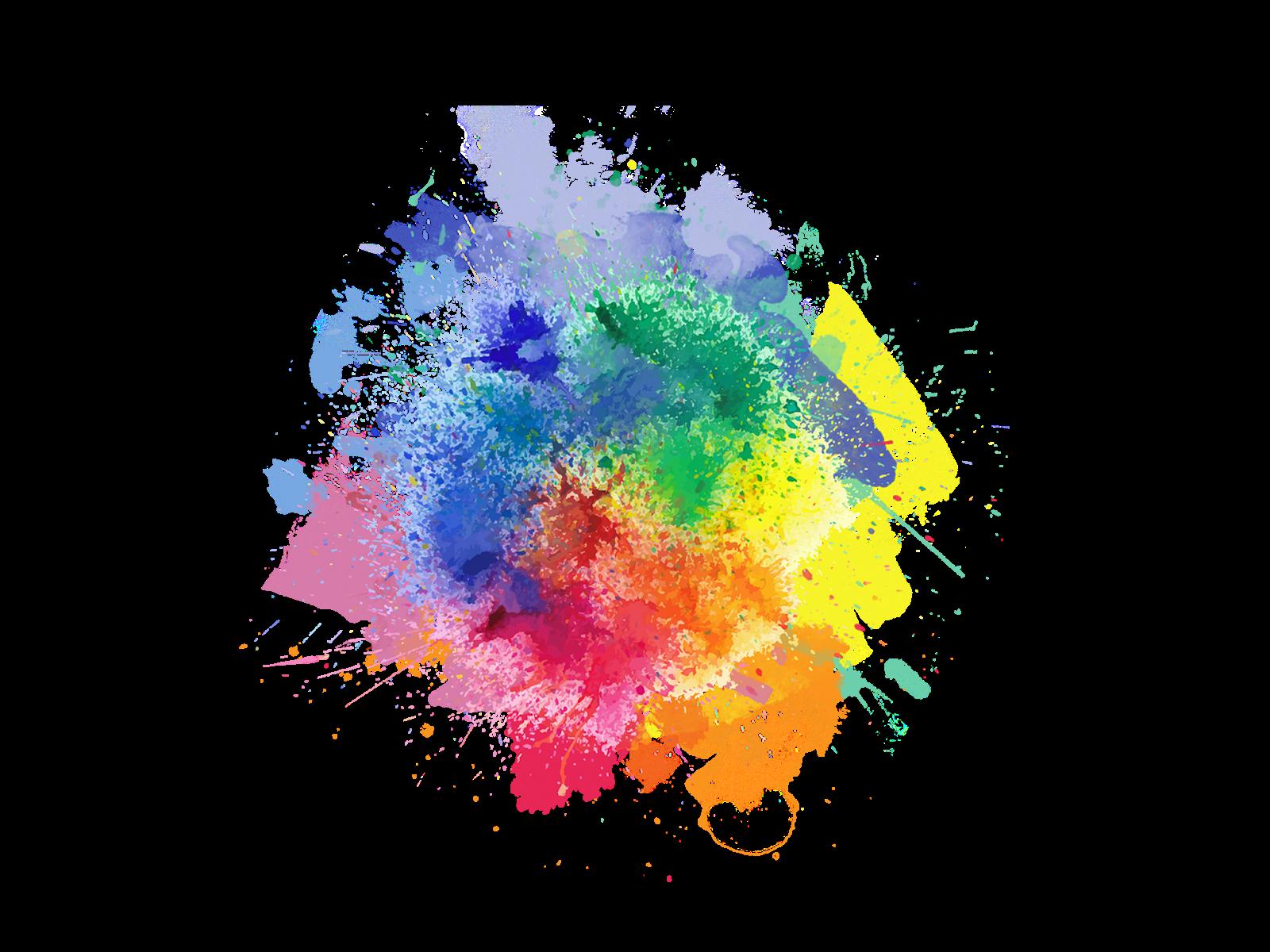 Powder Paint Clipart Transparent Color Powder Photoshoot - Transparent Png Colour Splash - HD Wallpaper