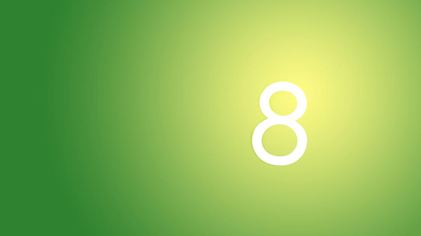 Windows 8 Wallpapers - Windows 8 Wallpaper Green - HD Wallpaper