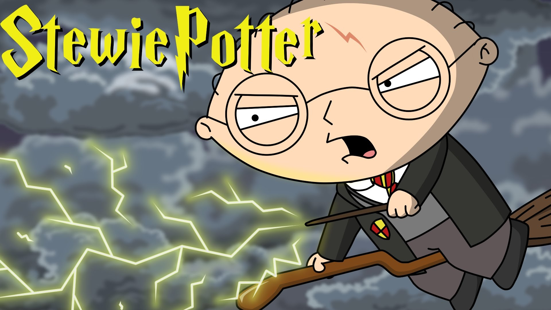 Stewie Potter, A Magical Animated Parody Of Family - Steve Potter Family Guy - HD Wallpaper