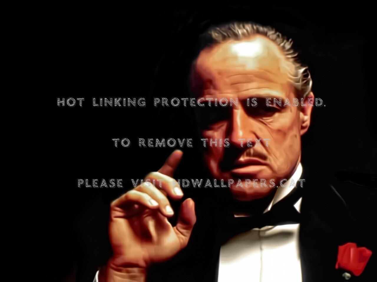 Don Corleone Movies The Godfather Marlon - Vito Corleone - HD Wallpaper