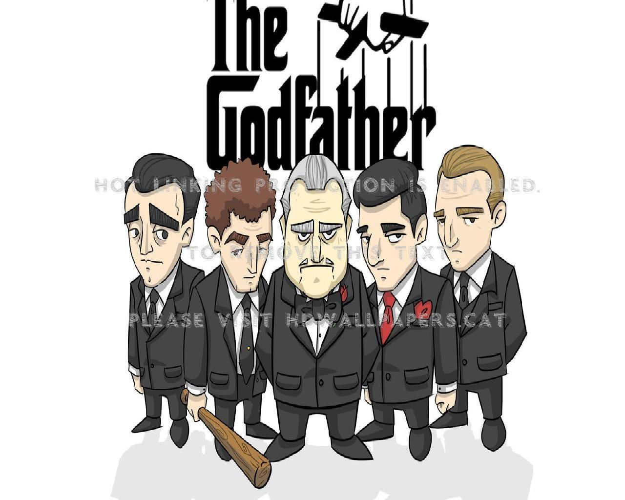 The Godfather Art Tom Hagen Fredo Corleone - Godfather Art - HD Wallpaper