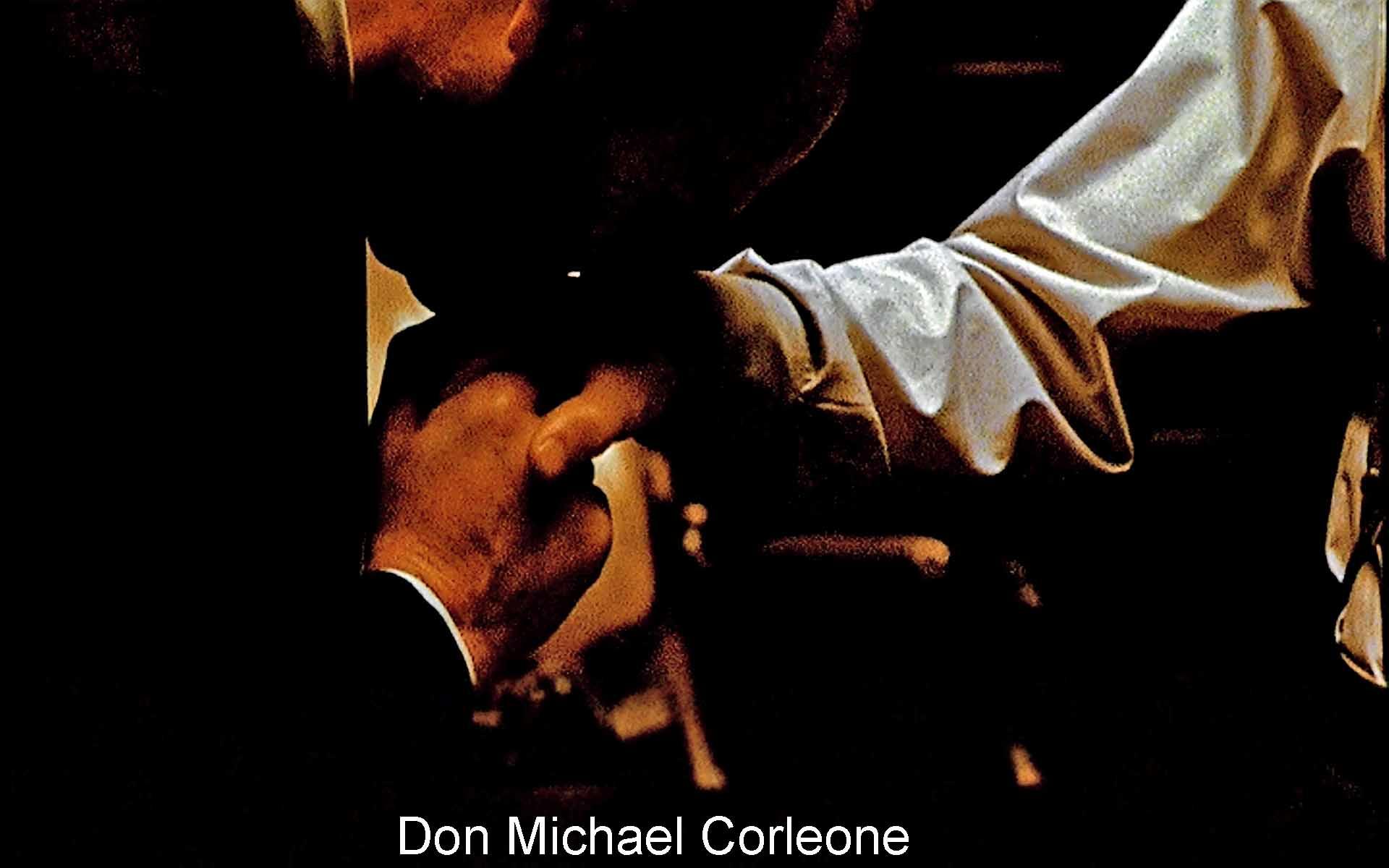 Don Michael Corleone - Poster - HD Wallpaper