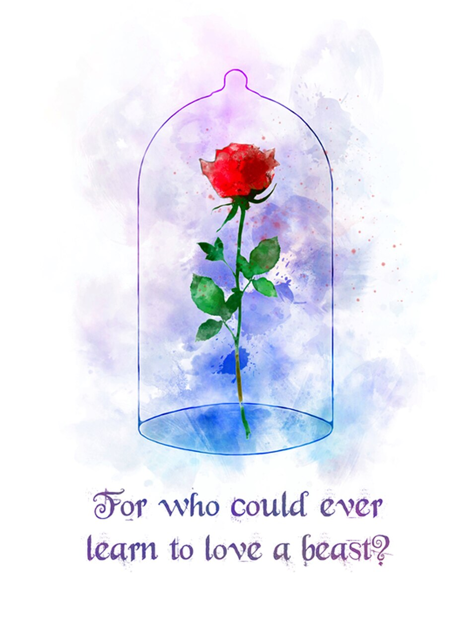 Inspiring Beauty And The Beast Rose Quotes 949x1280 Wallpaper Teahub Io