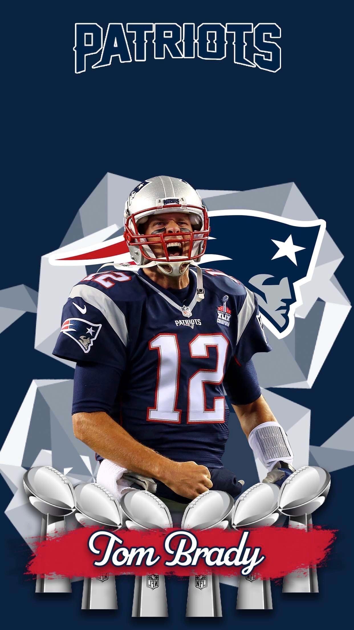 Patriots Wallpaper Tom Brady - 1242x2208 Wallpaper - teahub.io