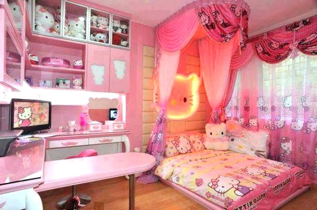 Hello Kitty Room Set Hello Kitty Bedroom Hello Kitty Hello Kitty Small Room Design 1024x680 Wallpaper Teahub Io