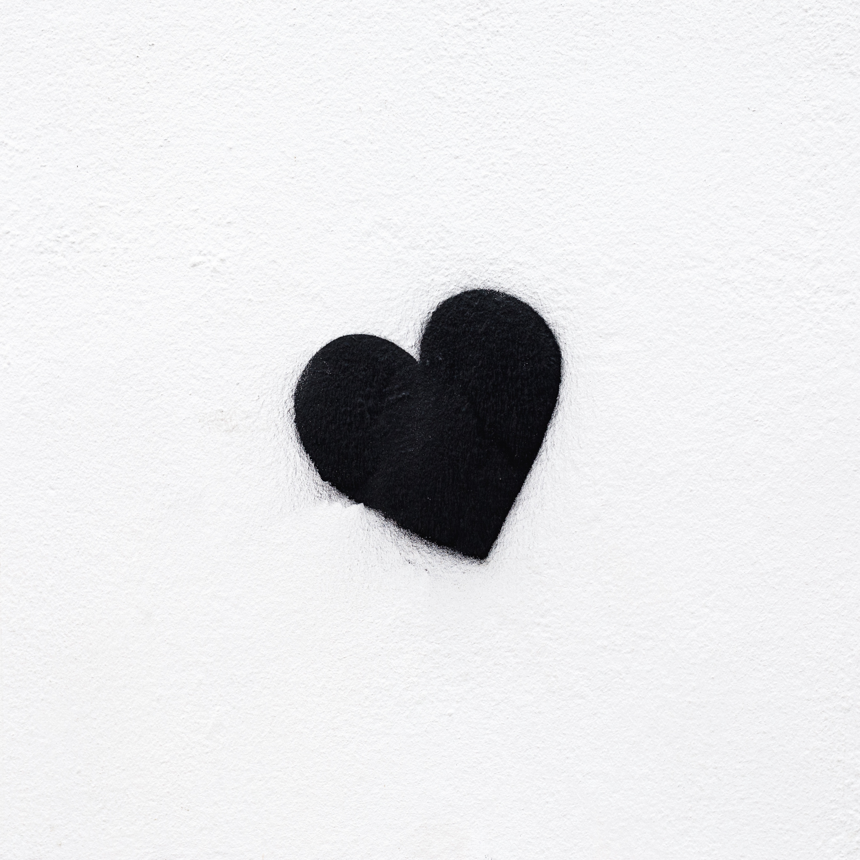 308 3088760 wallpaper heart bw love black white minimalism heart