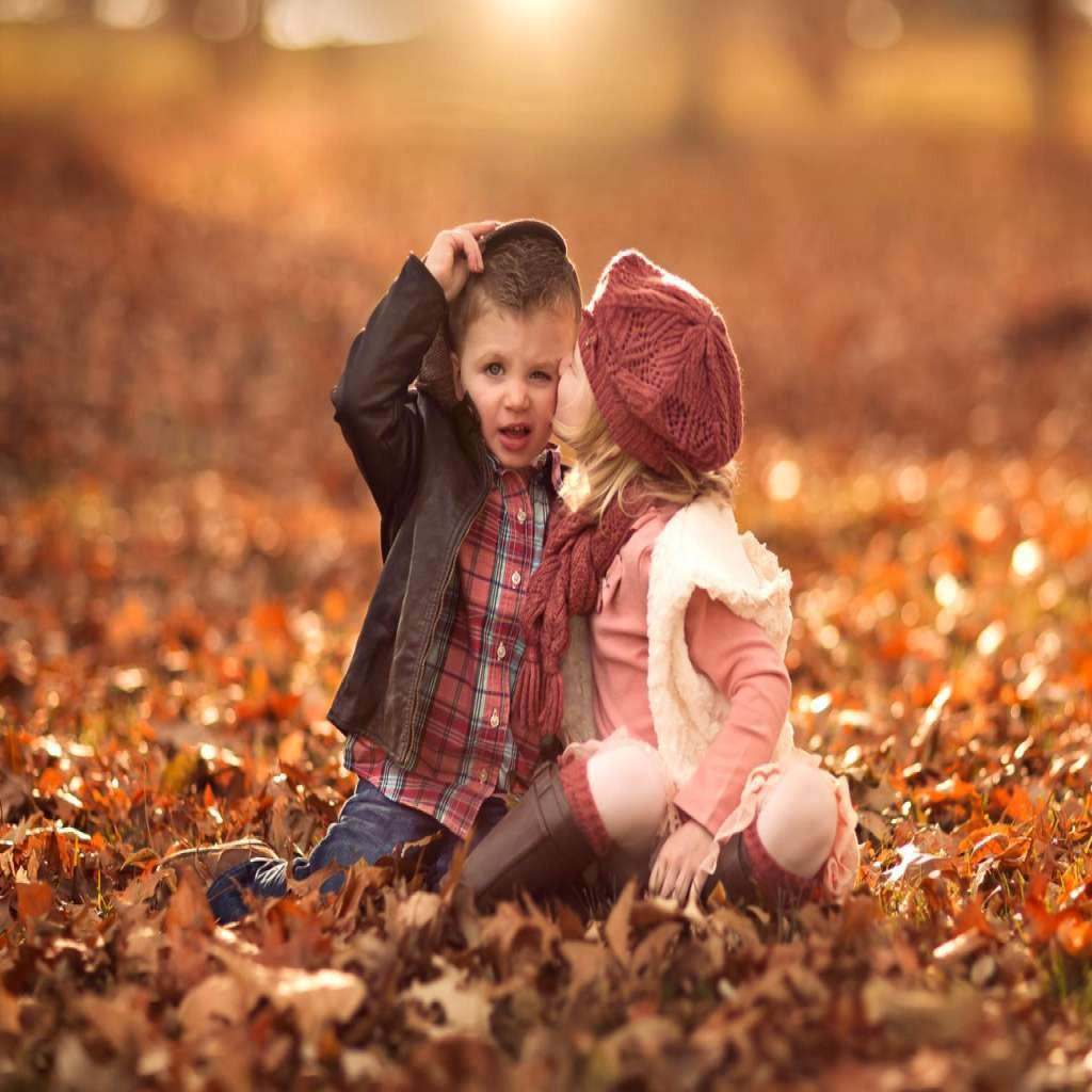 86 861248 Cute Love Baby Couple Wallpapers For Mobile - Whatsapp Dp For Baby Couple - HD Wallpaper