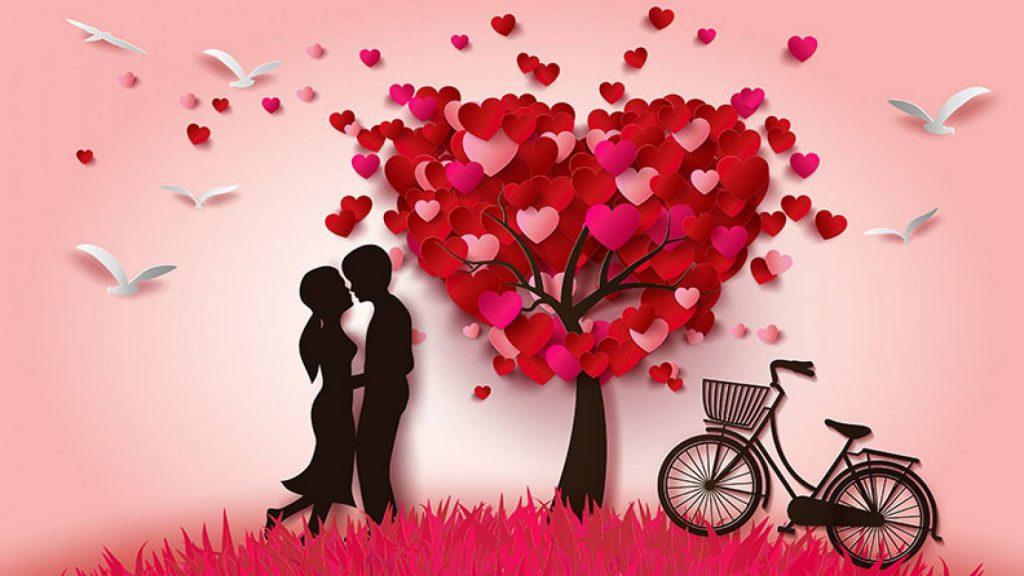 Facebook And Whatsapp Messages Romantic Love Loving - Romantic Love Wallpaper Hd Mobile - HD Wallpaper