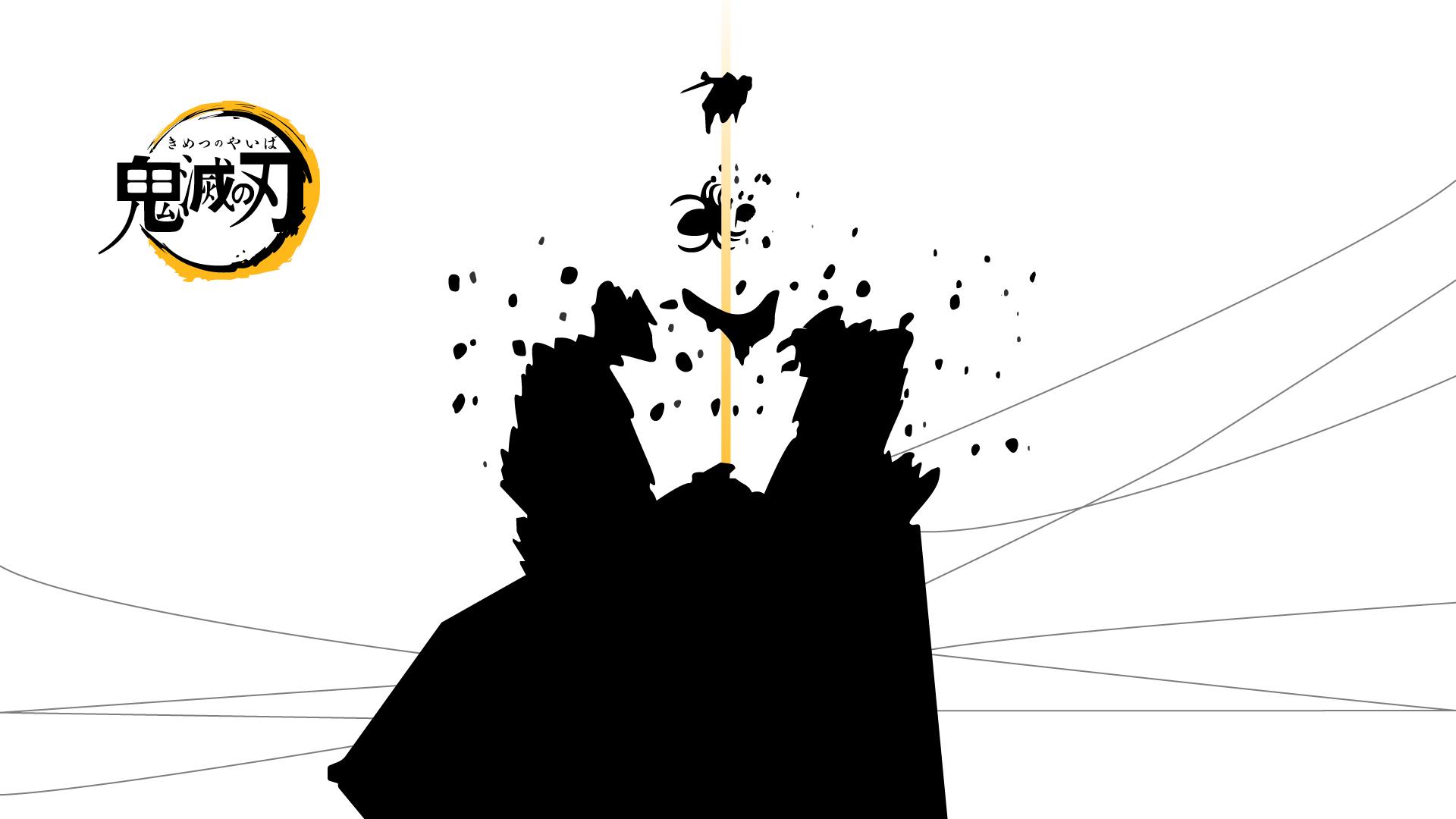 Koyoharu Gotouge, Kimetsu No Yaiba, Zenitsu Agatsuma - Kimetsu No Yaiba Wallpaper Black And White - HD Wallpaper