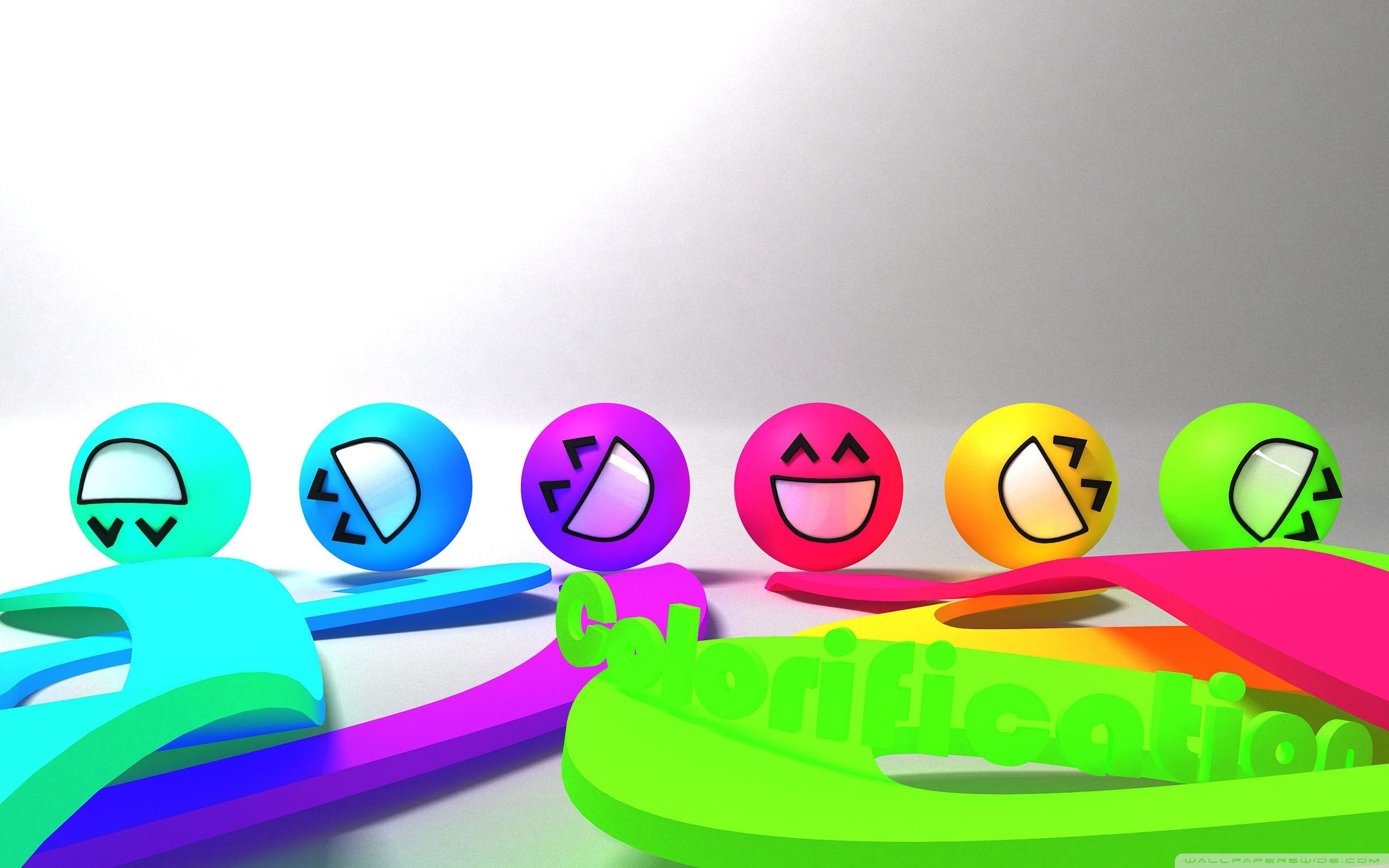 Colorful Smiley Faces ❤ 4k Hd Desktop Wallpaper For - Youtube Funny Channel Art - HD Wallpaper