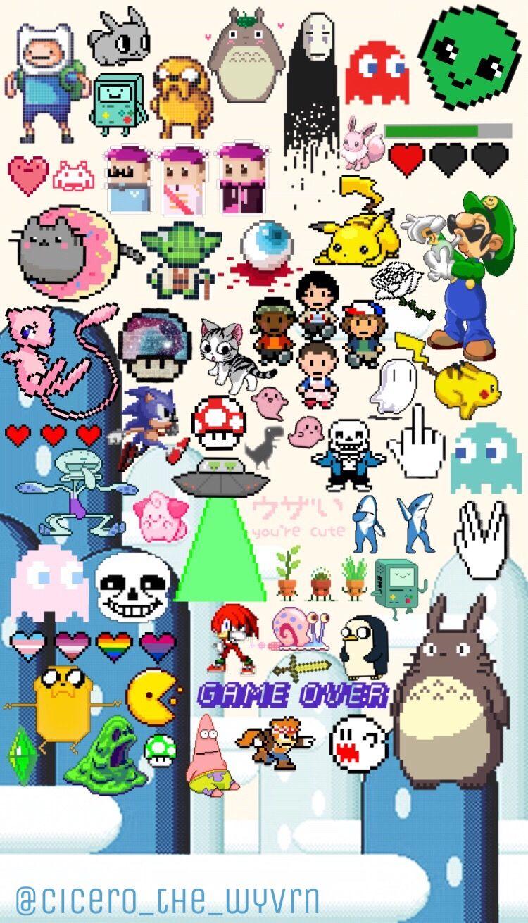 Geek Nintendo Wallpaper Homescreen Lockscreen Cute Nintendo Wallpaper Iphone 750x1311 Wallpaper Teahub Io