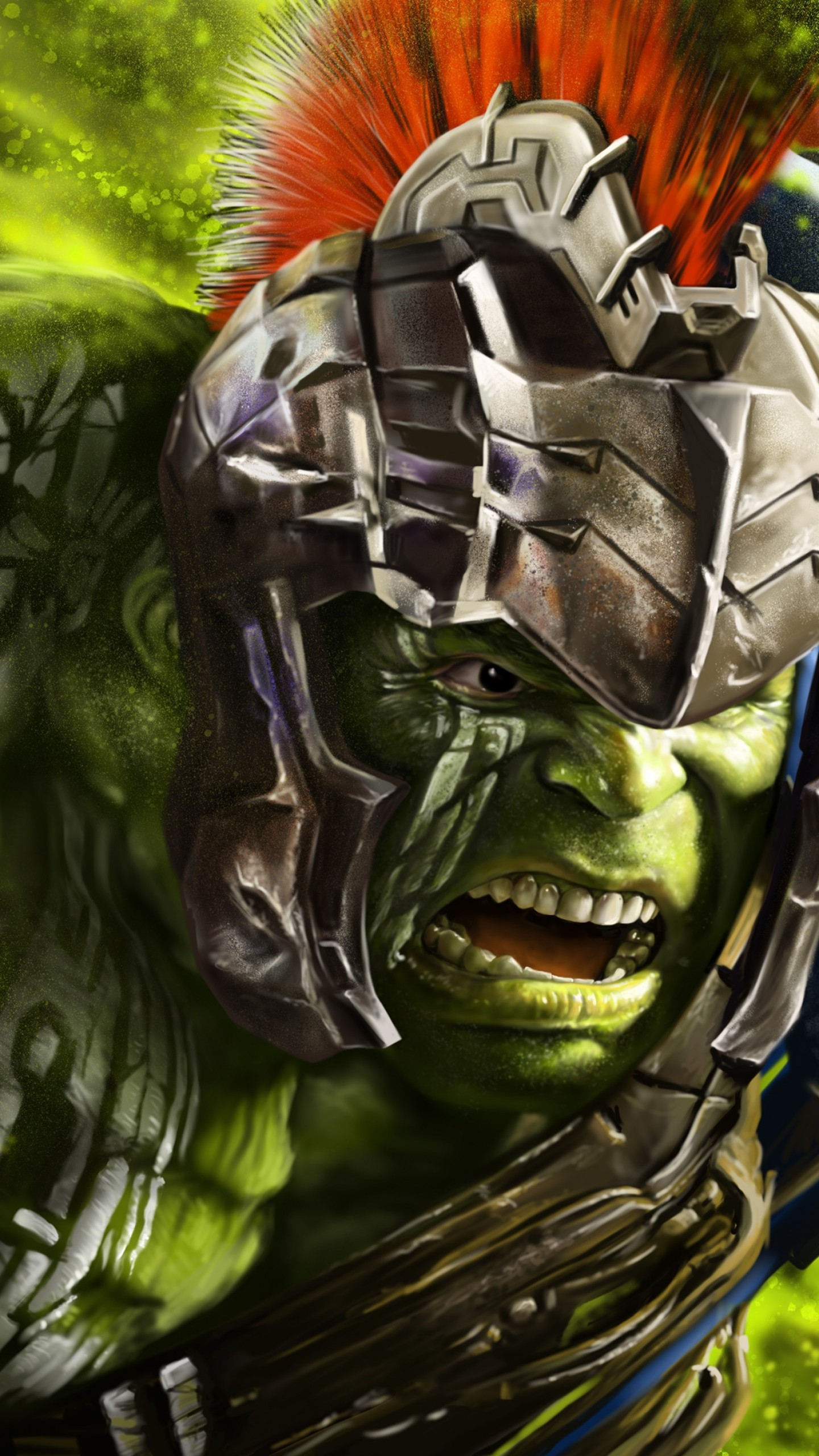 Hulk In Thor Ragnarok Hd 1440x2560 Wallpaper Teahub Io
