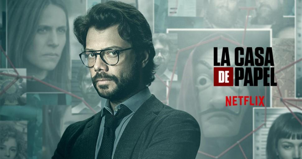 Professor La Casa De Papel Season 3 - HD Wallpaper