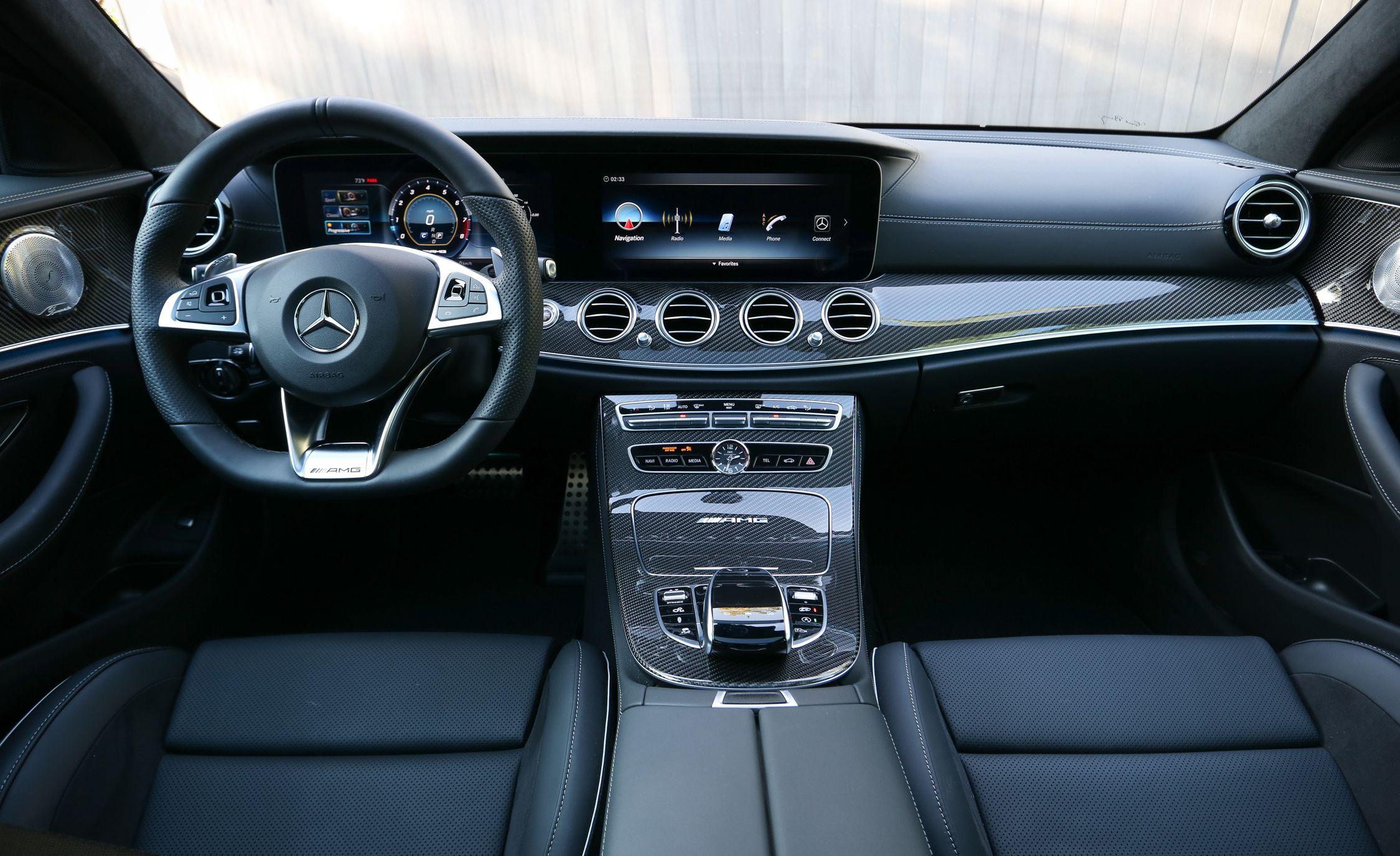 2018 Mercedes Amg E63 S Wagon Interior Cockpit Wallpapers Mercedes E63 Amg Wagon Interior 2250x1375 Wallpaper Teahub Io