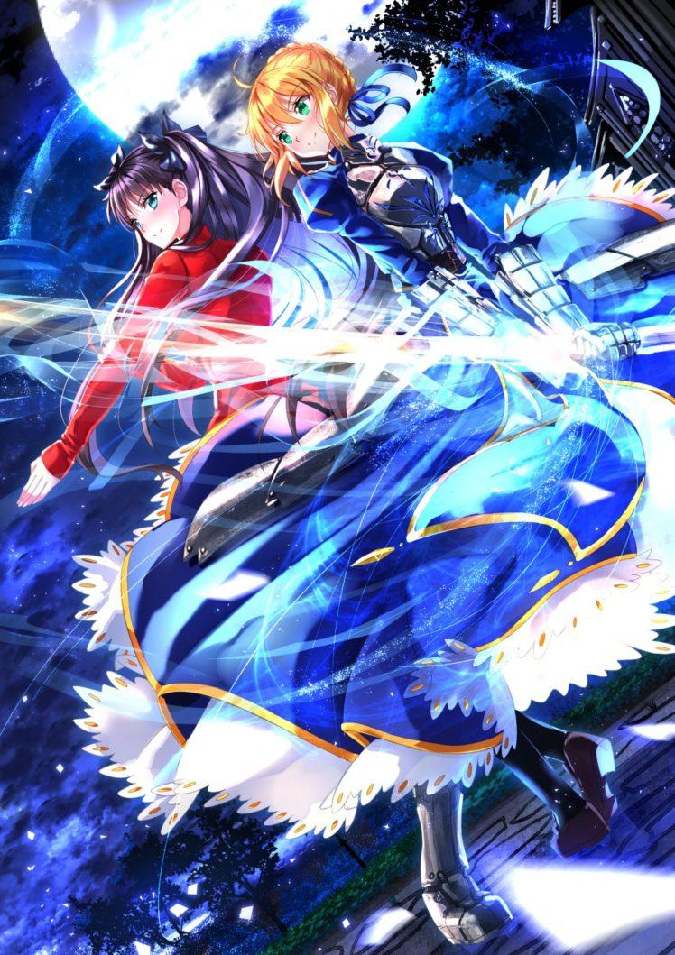 Fate Stay Night Unlimited Blade Works 壁紙 748x1059 Wallpaper Teahub Io