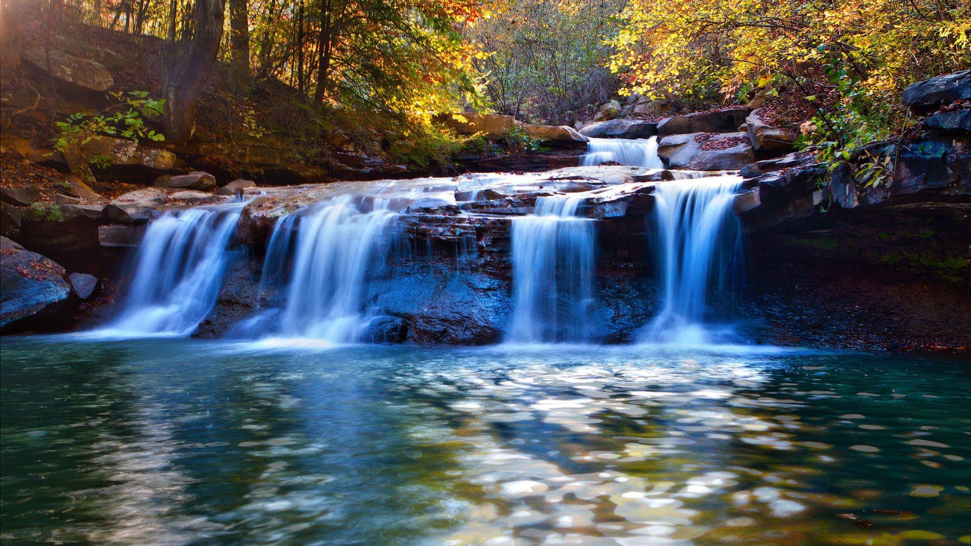 Beautiful Waterfall Photo Hd Wallpapers Free Water Fall Wallpaper For Desktop 1920x1080 Wallpaper Teahub Io