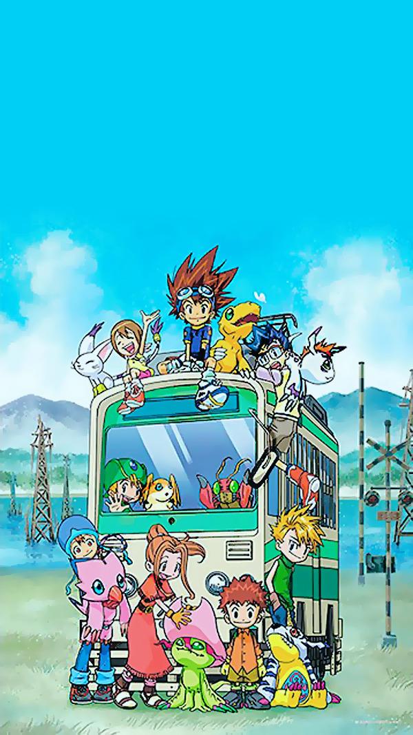 Digimon Adventure Wallpaper Mobile - HD Wallpaper