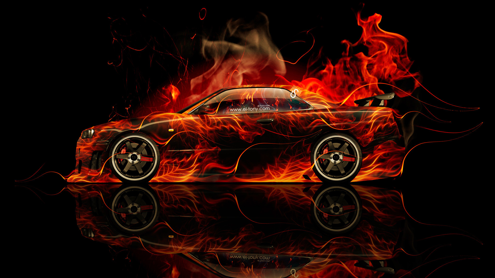 Download Red R34 Gtr Wallpaper Pictures