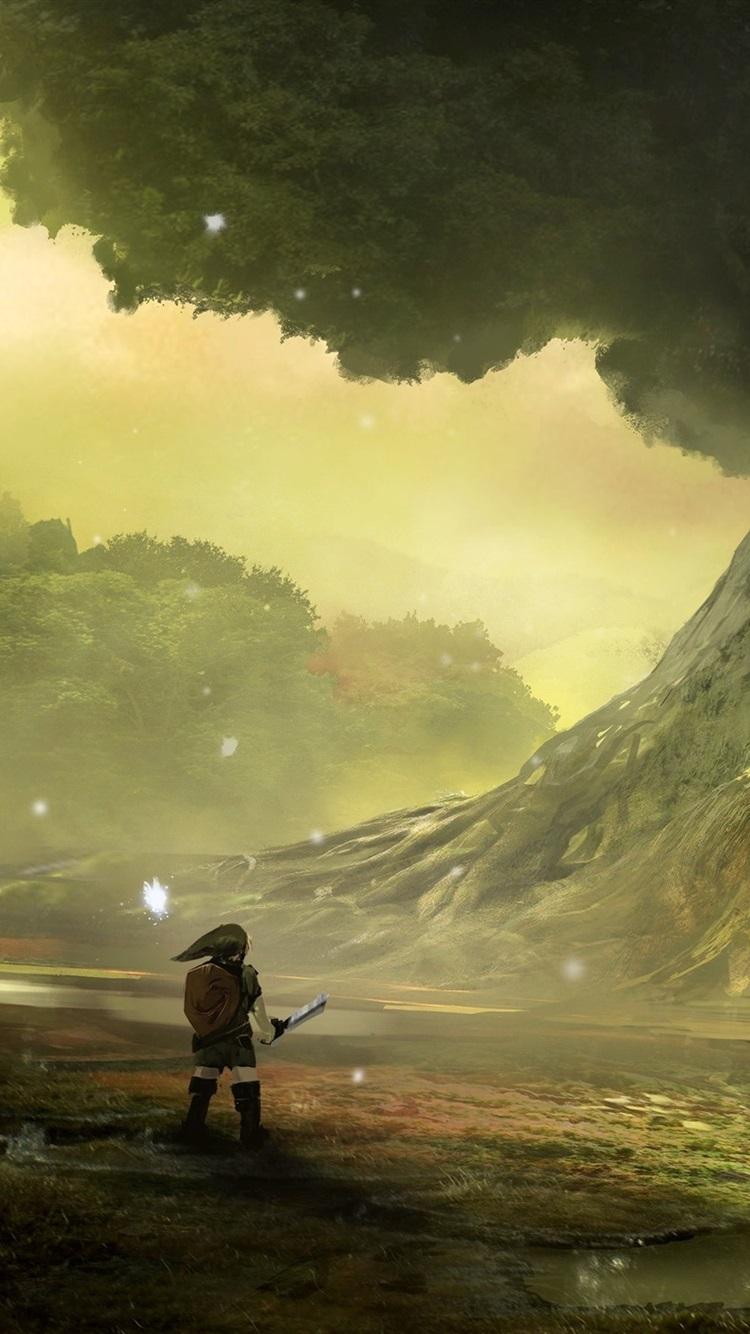 Legend Of Zelda Ocarina Of Time Phone - HD Wallpaper