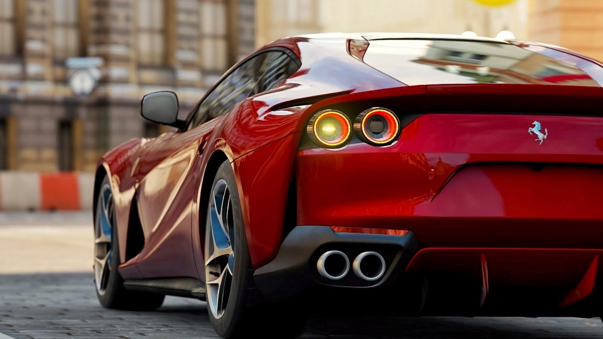 Ferrari 812 Superfast 128626 Accordingly Full Hd Ferrari 812 Superfast Wallpaper Hd 1920x1080 Wallpaper Teahub Io