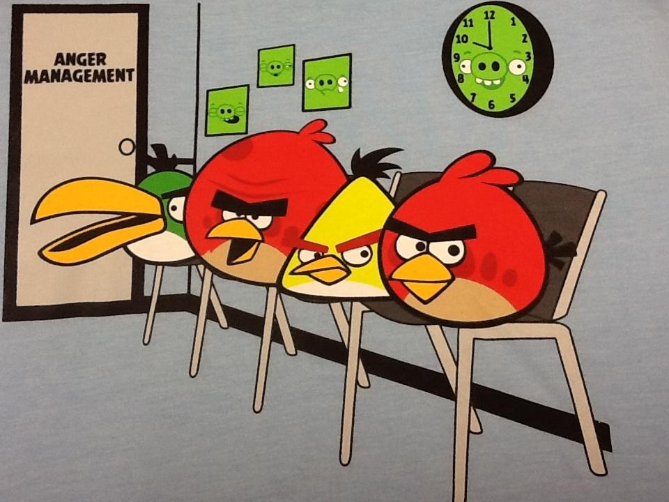 Gambar Kartun Angry Bird - HD Wallpaper