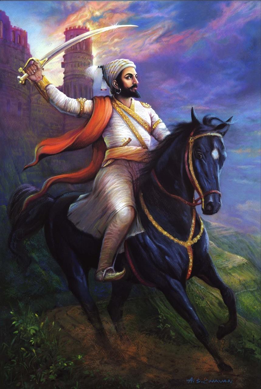 Hd Wallpaper Shivaji Maharaj - HD Wallpaper