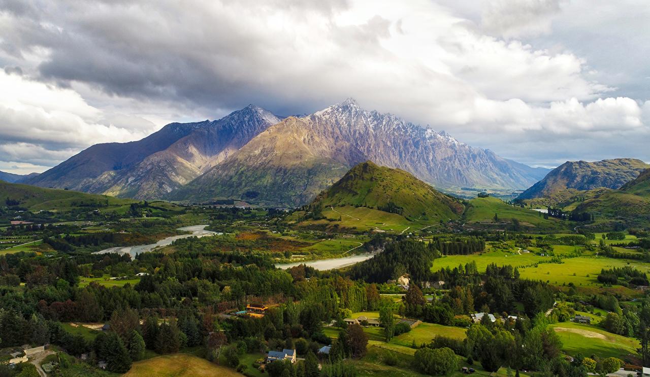 Queenstown New Zealand Fall - HD Wallpaper