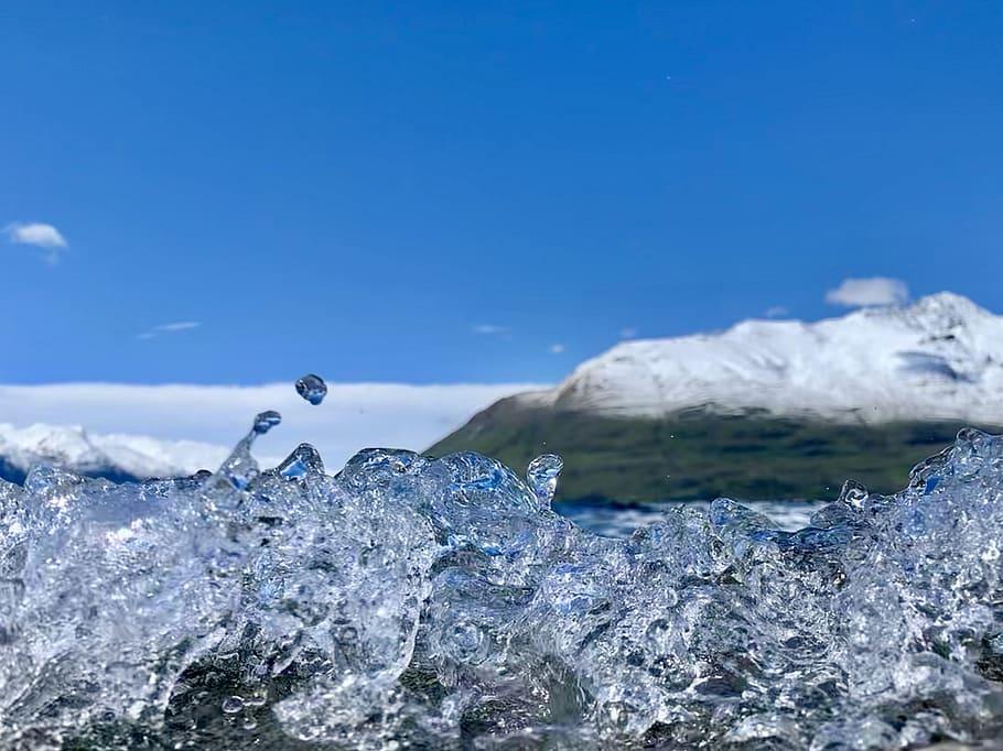 New Zealand, Queenstown, Wave, Water, Lake, Iphone, - HD Wallpaper