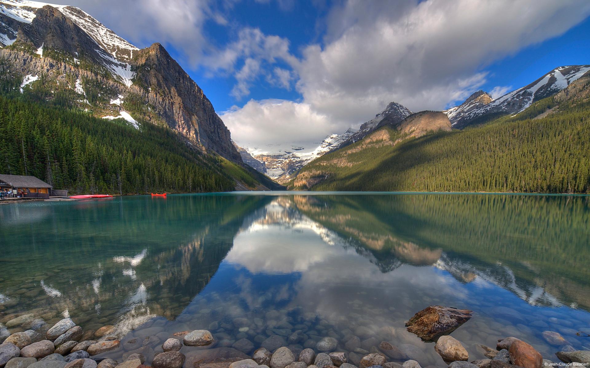 New Zealand Desktop Wallpapers - Banff National Park - HD Wallpaper