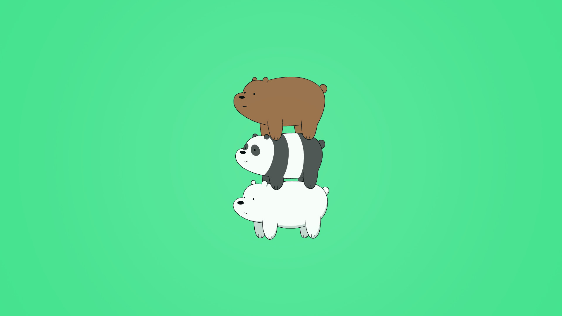 Top Collection Of We Bare Bears Iphone Wallpapers We Bare Bears Wallpaper Laptop 1920x1080 Wallpaper Teahub Io