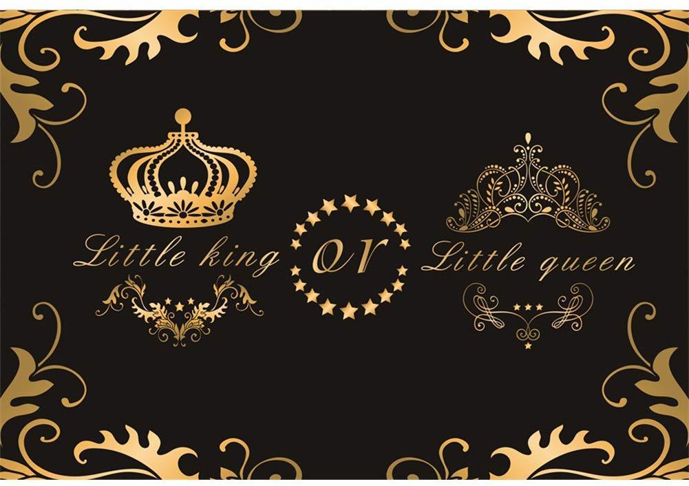 Black Background Gold King Queen Crown 1001x706 Wallpaper Teahub Io