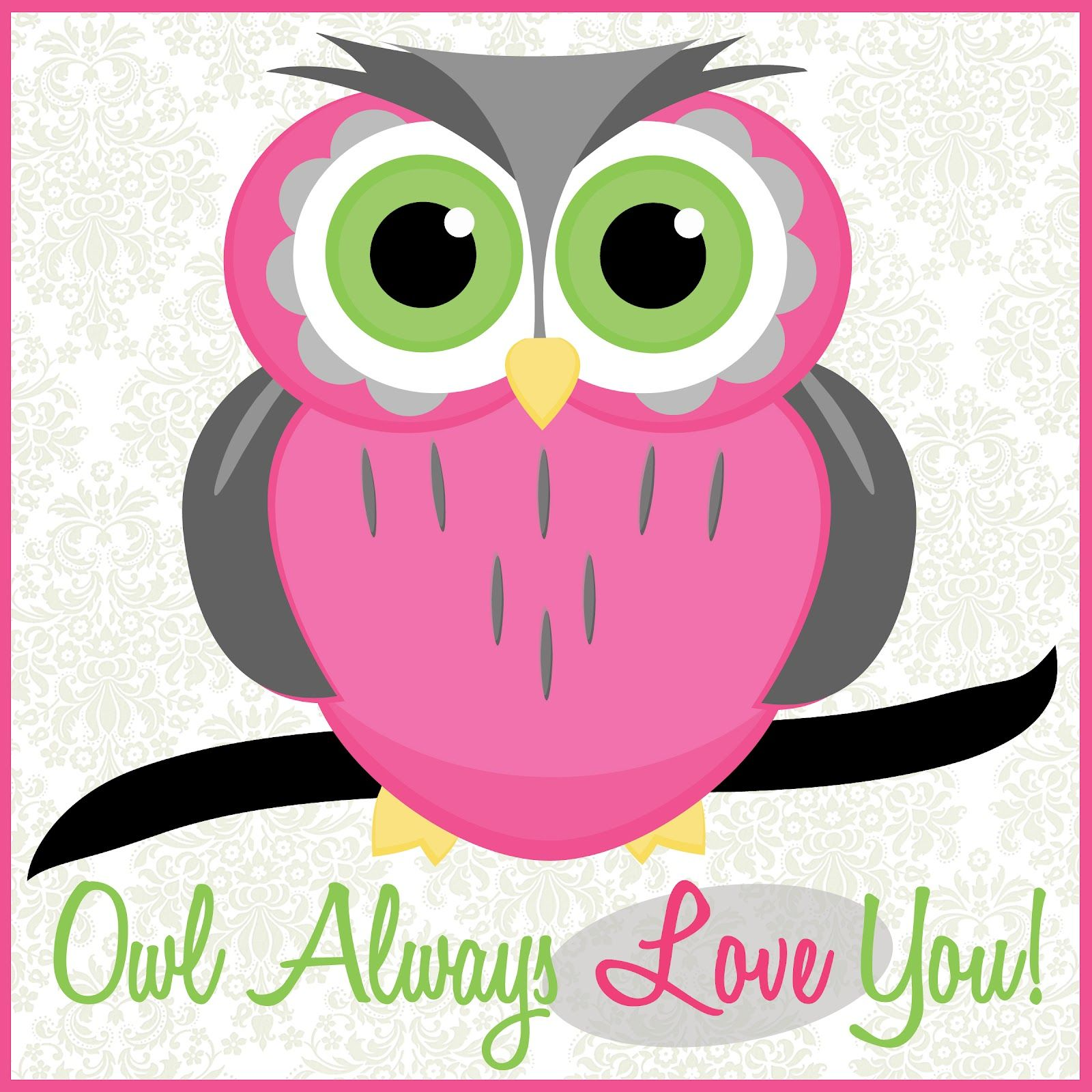 Cartoon Owl Wallpaper-14nz611 - Kartun Owl Pink - HD Wallpaper