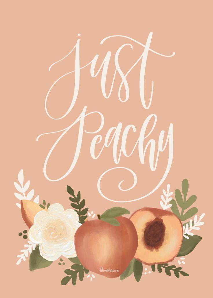 Aesthetic Peaches - HD Wallpaper