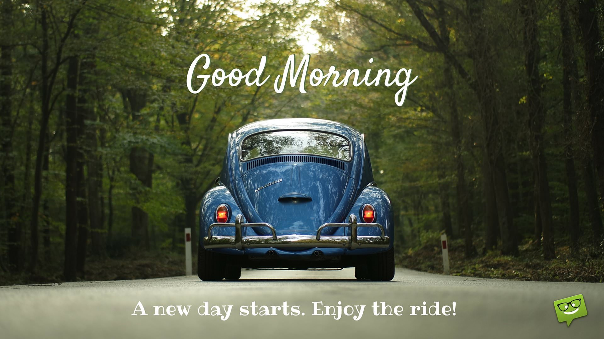 Good Morning A New Day Starts - Good Morning With Cars - HD Wallpaper