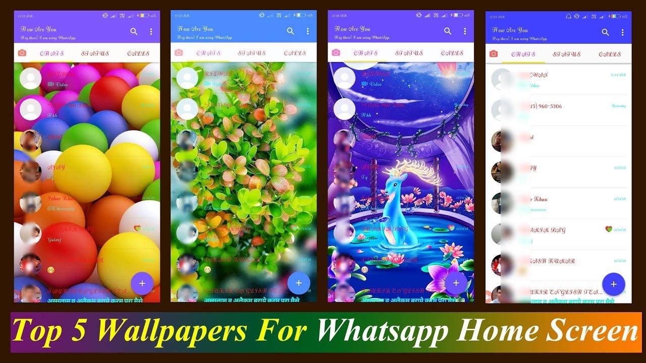 Best Whatsapp Home Screen - HD Wallpaper
