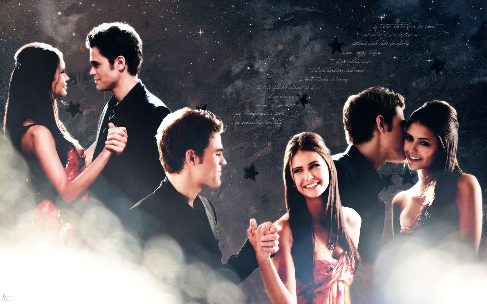 Laptop Vampire Diaries Background ...