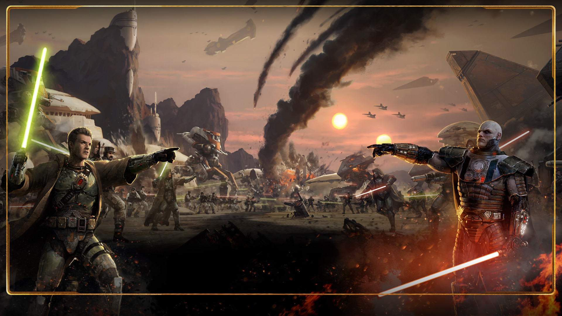The Old Republic Images Jedi Vs Sith Hd Wallpaper And Star Wars Old Republic Battle 1920x1080 Wallpaper Teahub Io