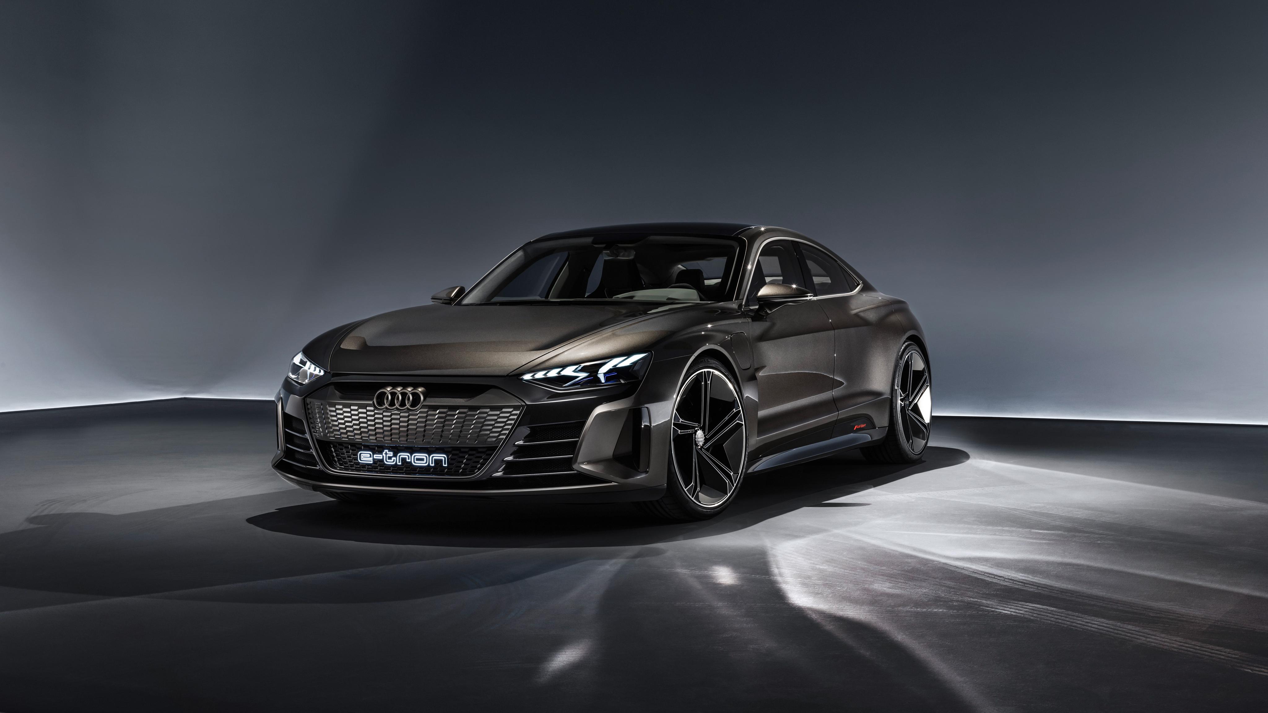 Audi E Tron Gt Wallpapers 4k 4096x2304 Wallpaper Teahub Io