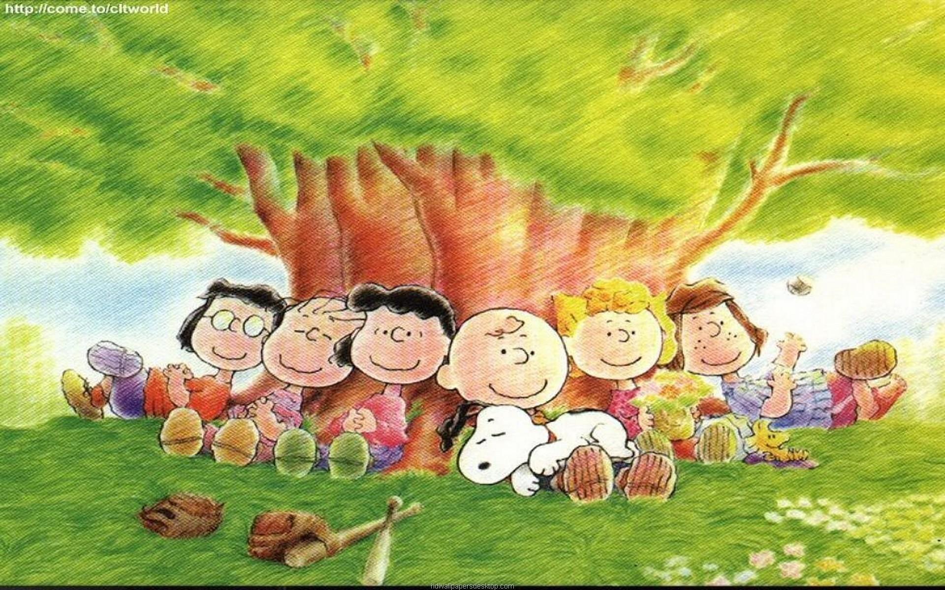 Snoopy Thanksgiving Desktop Wallpaper - Good Afternoon Peanuts - HD Wallpaper