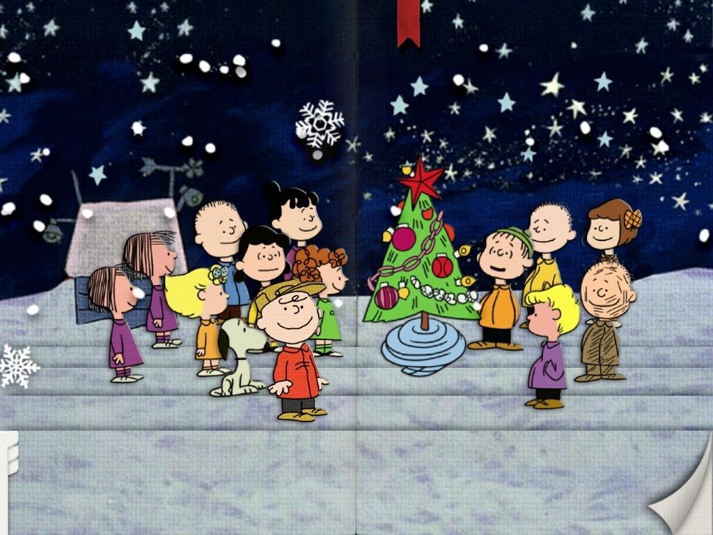 Animated Merry Christmas Charlie Brown - HD Wallpaper